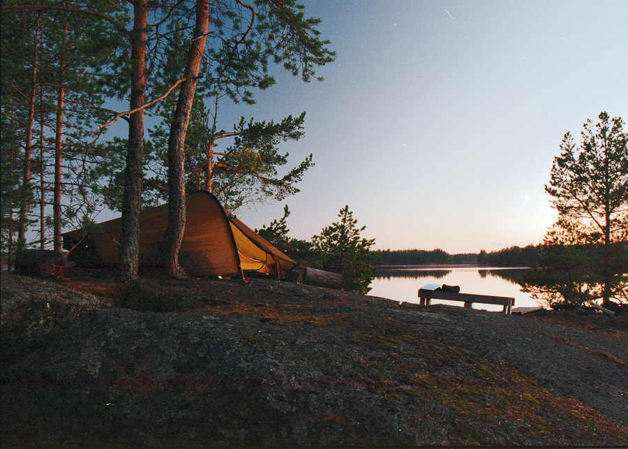 konnevesi kansallispuisto melonta konneveden finland kayaking lake