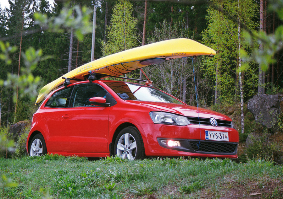 Valley Avocet kayak kayaking VW Polo 6R melonta konnevesi kansallispuisto konneveden finland kayaking lake