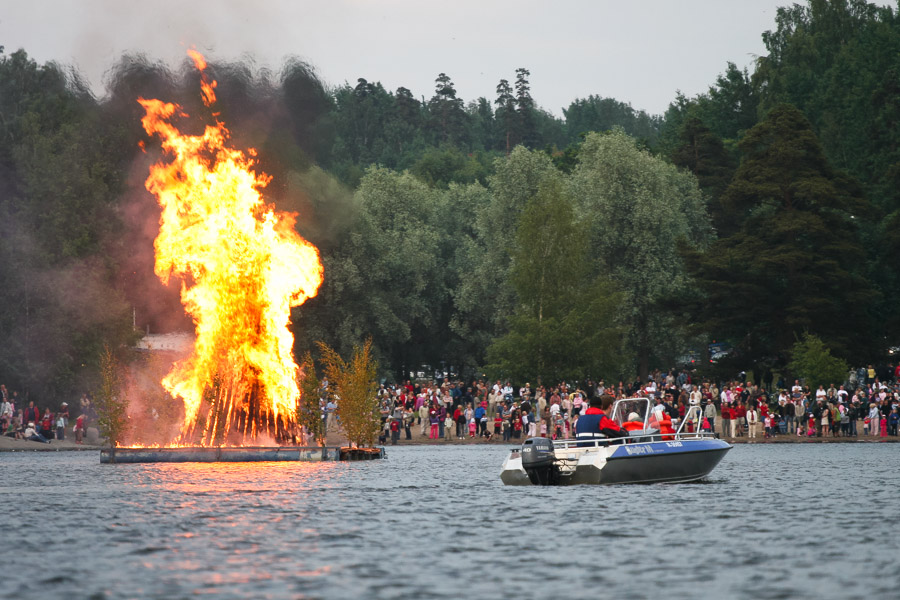 Midsummer celebration in Lappeenranta