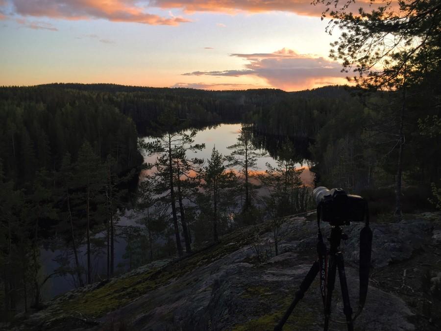 Repovesi kansallispuisto national park olhavanvuori valokuva luontokuva retkeily vaellus