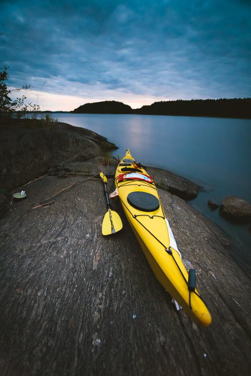 Valley Avocet kayaking linnansaaren kansallispuisto melonta telttailu