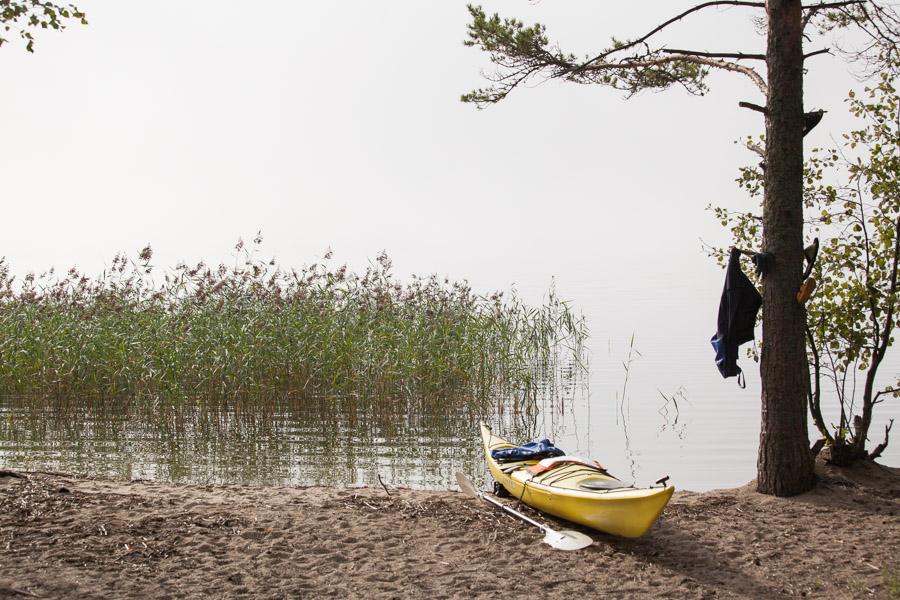 Puruvesi melonta kajakki kayak kayaking Finland