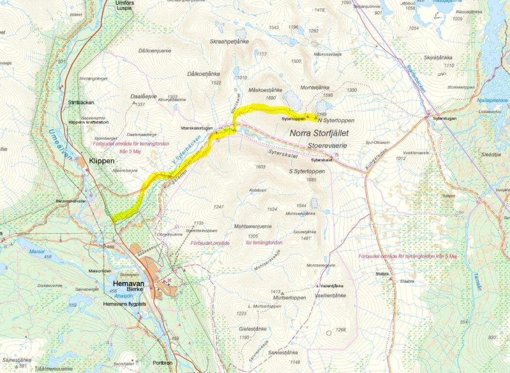 Norra_sytertoppen_karta_map_hiking