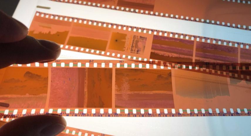 Värinegatiivien skannaus filmi värien säätö Filmin skannaus 35mm Värinegatiivien skannaaminen