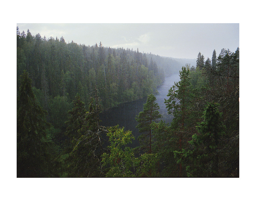 Helvetinjärvi Helvetinjärven kansallispuisto vaellus Helvetinjärvi National park