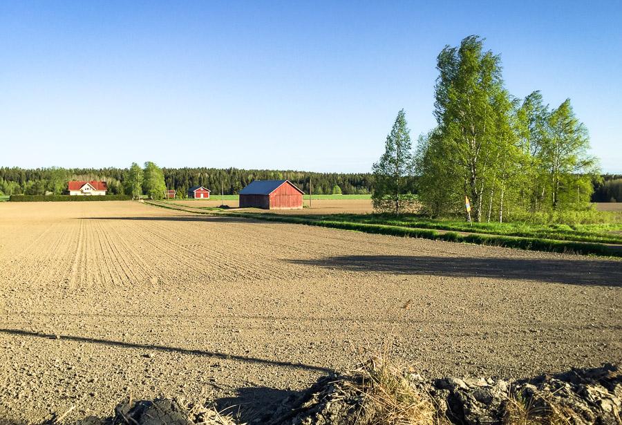 Häntälän notkot Somero luonnonsuojelualue Rekijoki