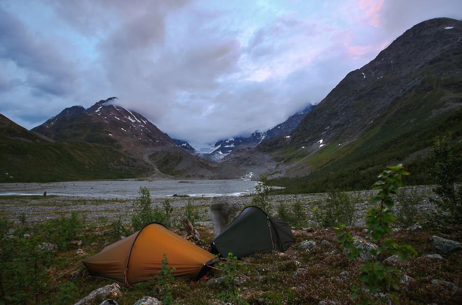 Norja Lyngsdalen Lyngen Vestbreen hike Norway