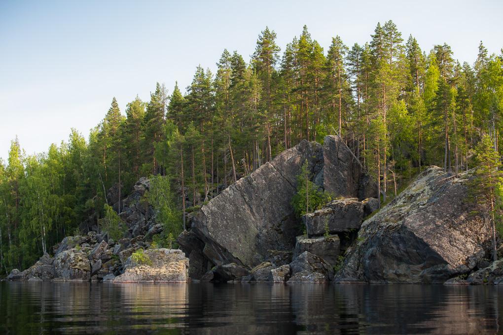 Saimaa Melonta Pihlajavesi kayaking Saimaa lake saimaa