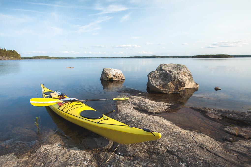 Melonta Pihlajavesi kayaking Saimaa lake saimaa