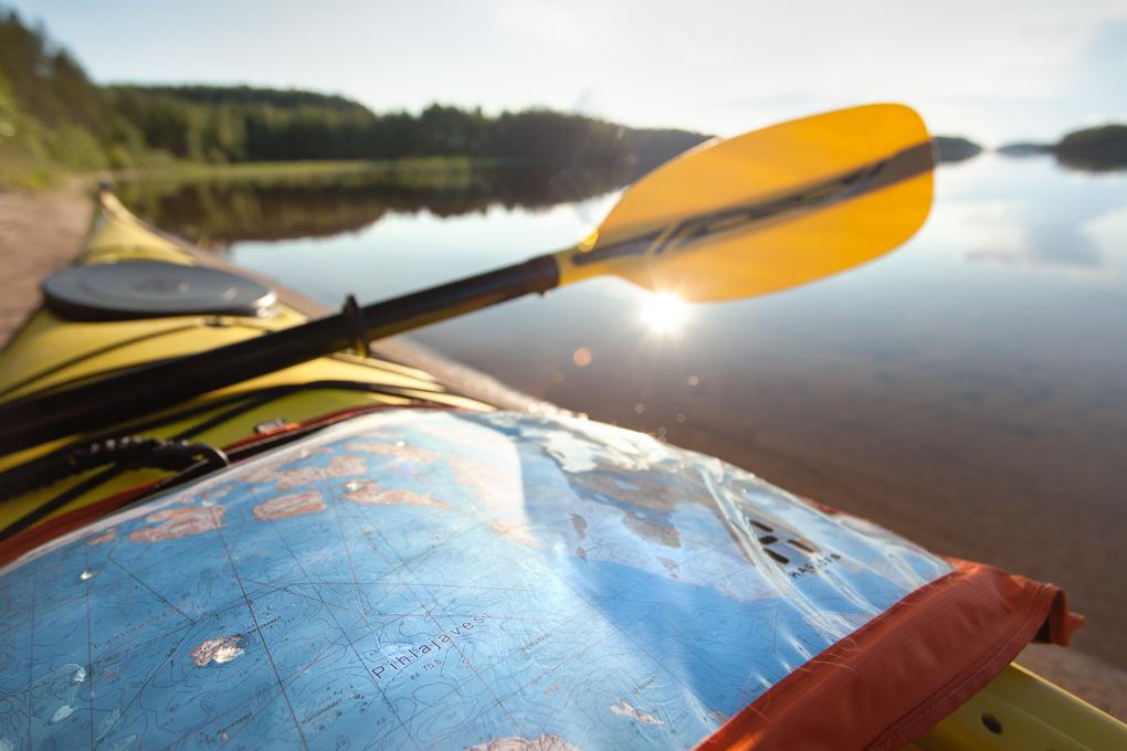 Valley Avocet sea kayak Finland kayaking saimaa melonta pihlajavesi