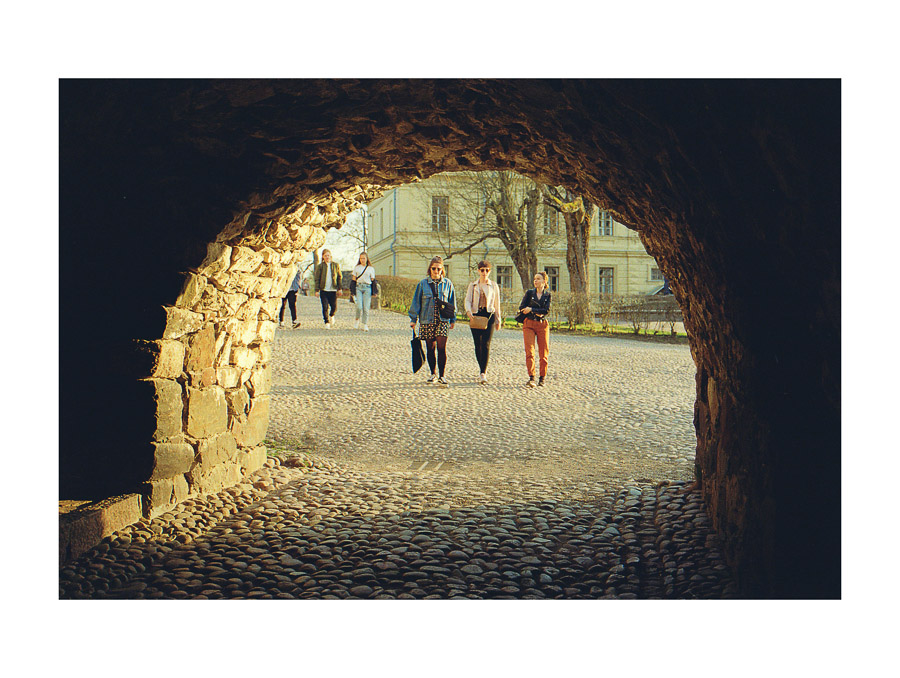 Suomenlinna Sea Fortress Helsinki UNESCO fujifilm superia xtra 400