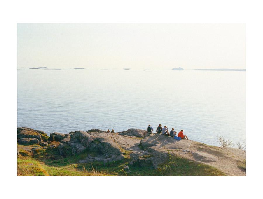 Suomenlinna Sea Fortress Helsinki UNESCO fujifilm superia xtra 400 35mm film