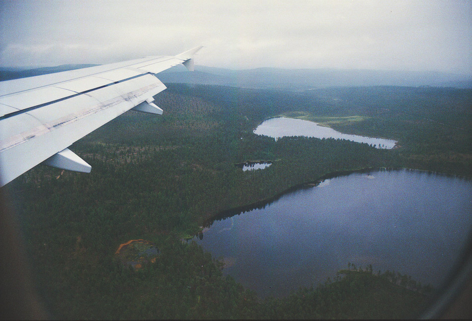 Ivalo Finnair lento