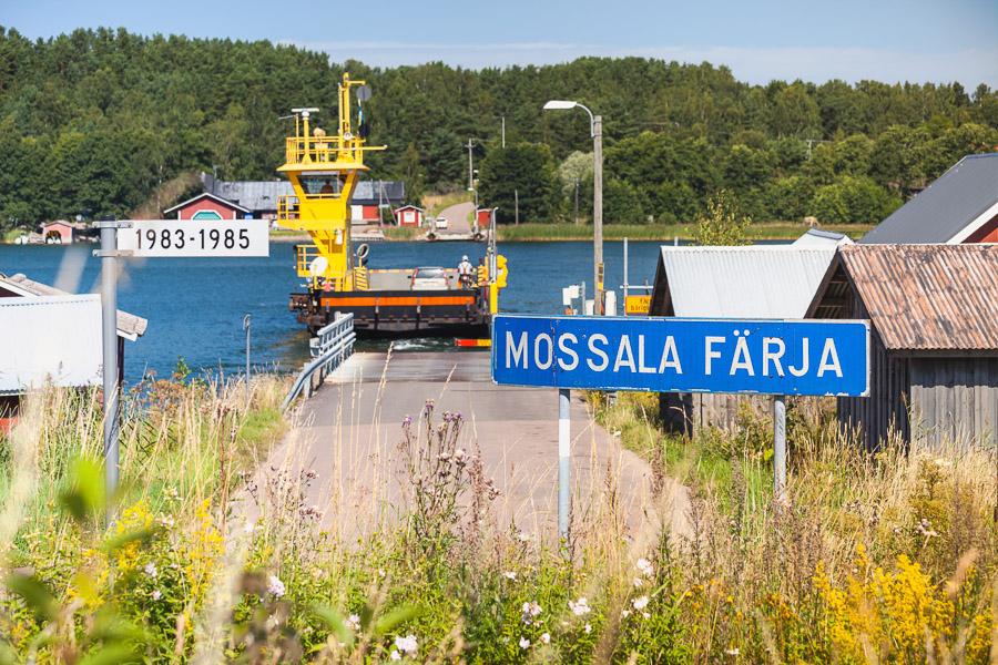 Björkö-Mossala-lautta, Houtskari Saariston Rengastie
