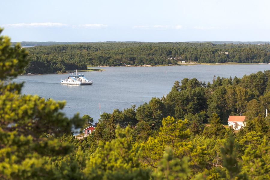 Iniö-Jumo-lautta Saariston Rengastie