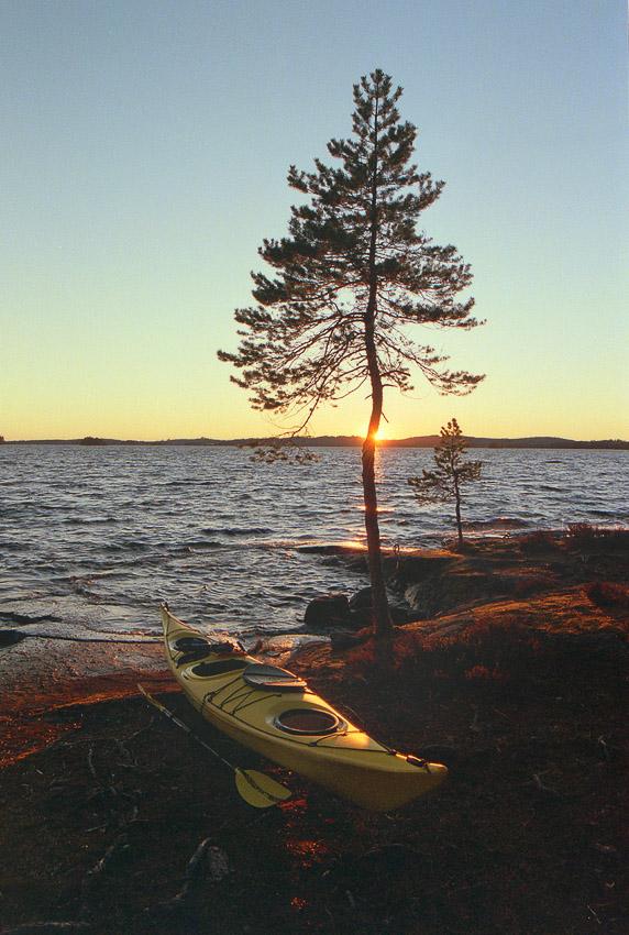 Pieni Navettasaari melonta konnevesi kansallispuisto konneveden finland kayaking lake