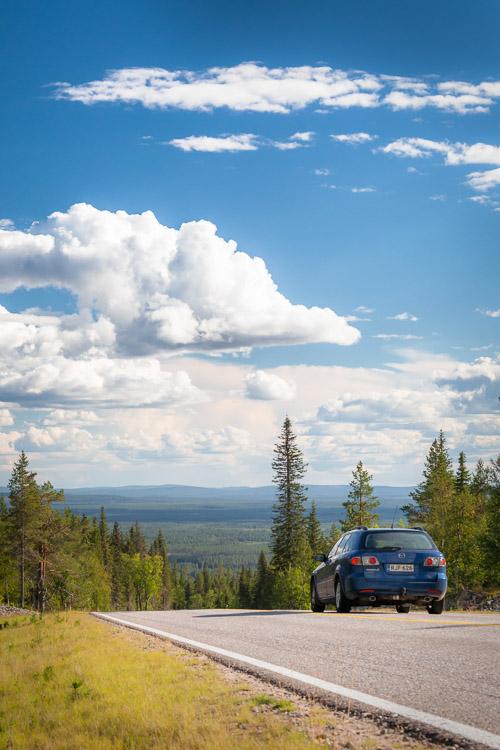 Ylläs scenery road, Kolari