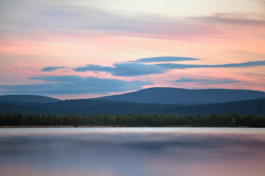 Viipustunturit, Menesjärvi, Inari