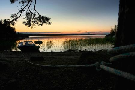 Summer evening at Peräsaari, Suur-Saimaa