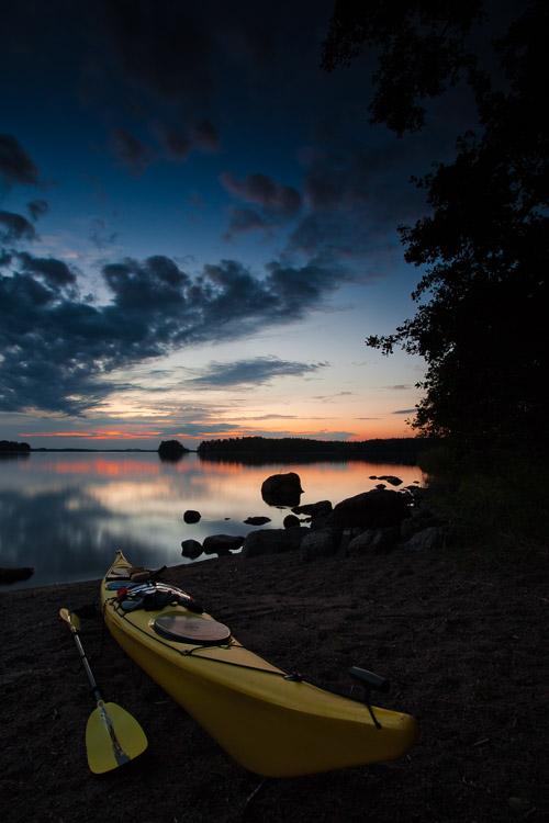Kayaking Kirvessaari Linnansaari Linnansaaren kansallispuisto National Park
