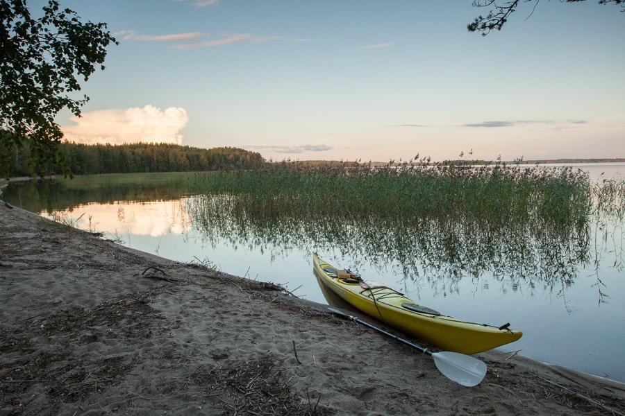 Petrisaari Puruvesi kayaking melonta
