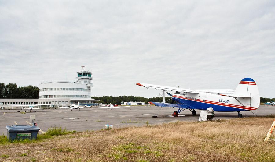 Antonov AN-2 (LY-ABY) at Malmi Airport