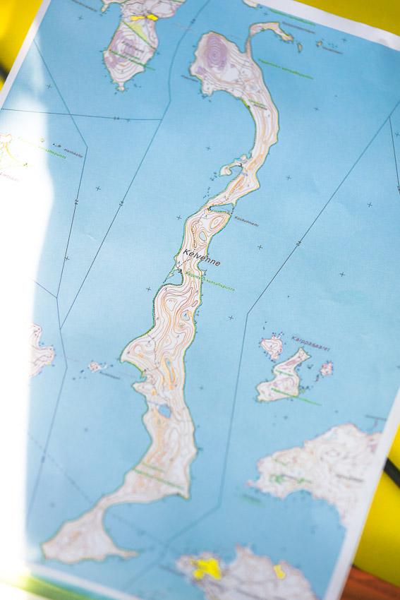 kelvenne kartta melonta päijänne kansallispuisto kayaking lake päijänne finland