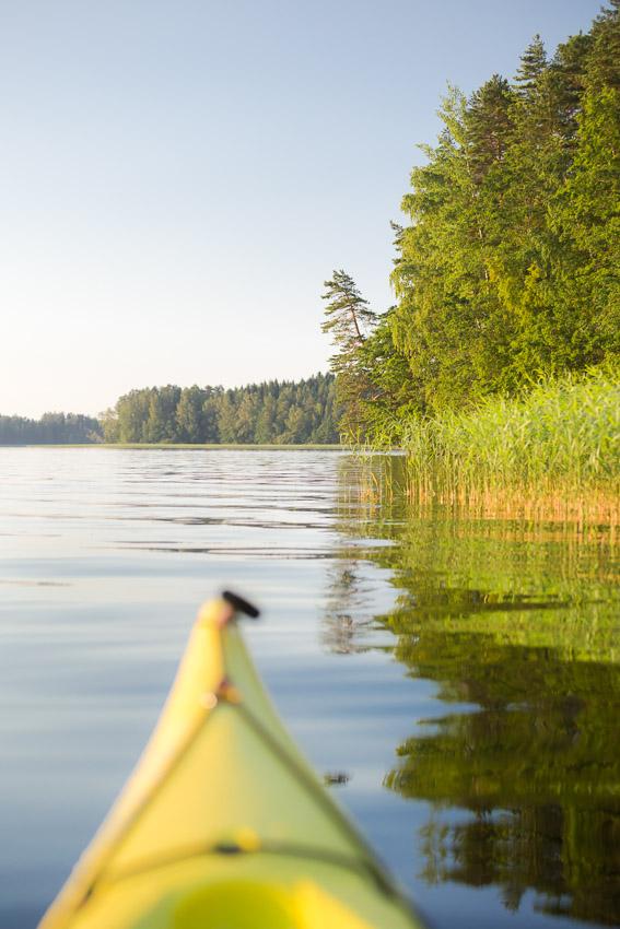 päijänne kansallispuisto kayaking lake päijänne finland