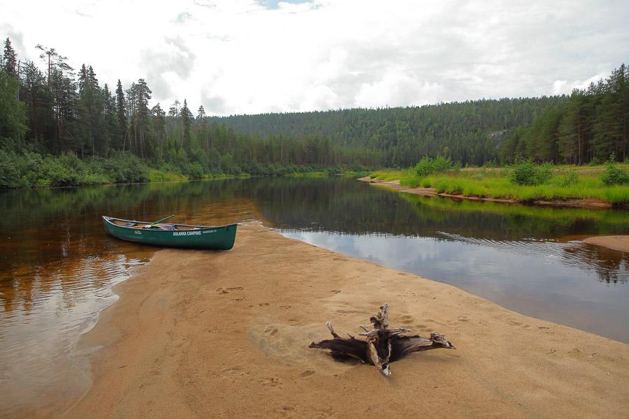 Oulankajoki Canoe Oulanka National Park Oulangan kansallispuisto melonta