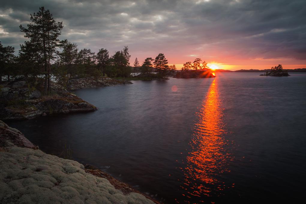 Pajuperänluodot Melonta Pihlajavesi kayaking Saimaa lake saimaa