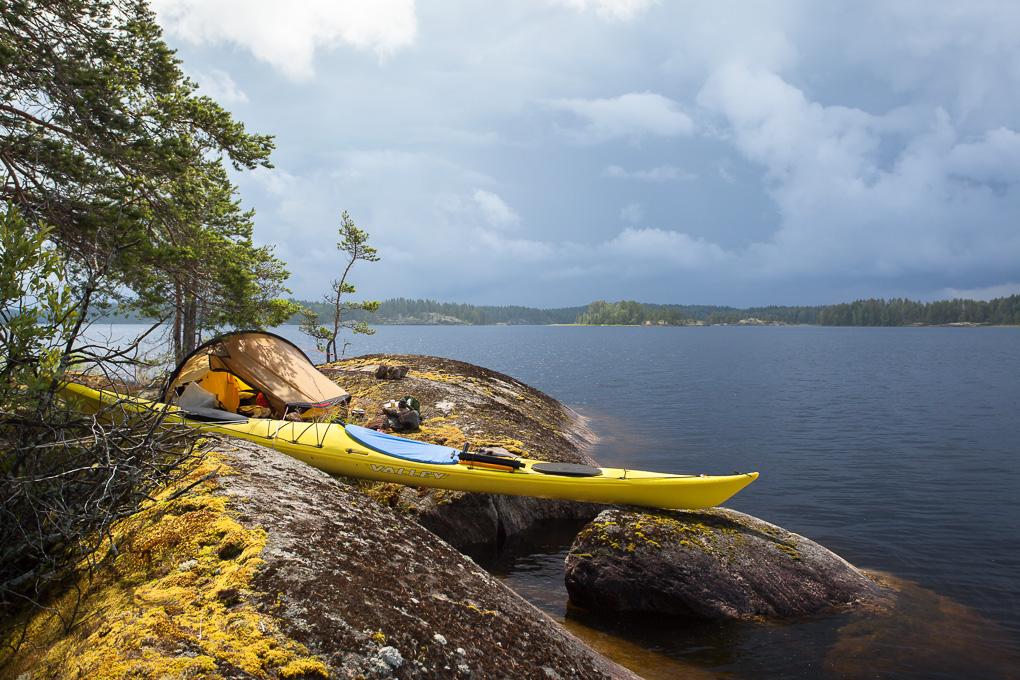 Melonta Pihlajavesi Saimaa kayaking Saimaa lake saimaa