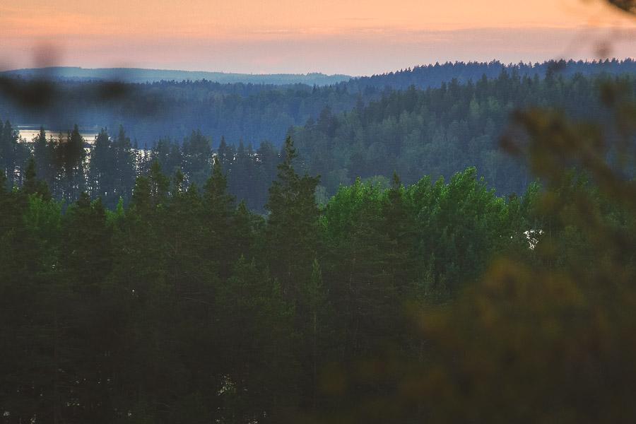 Linnansaaren kansallispuisto Linnansaari melonta kayaking Finland Saimaa Lake Rantasalmi