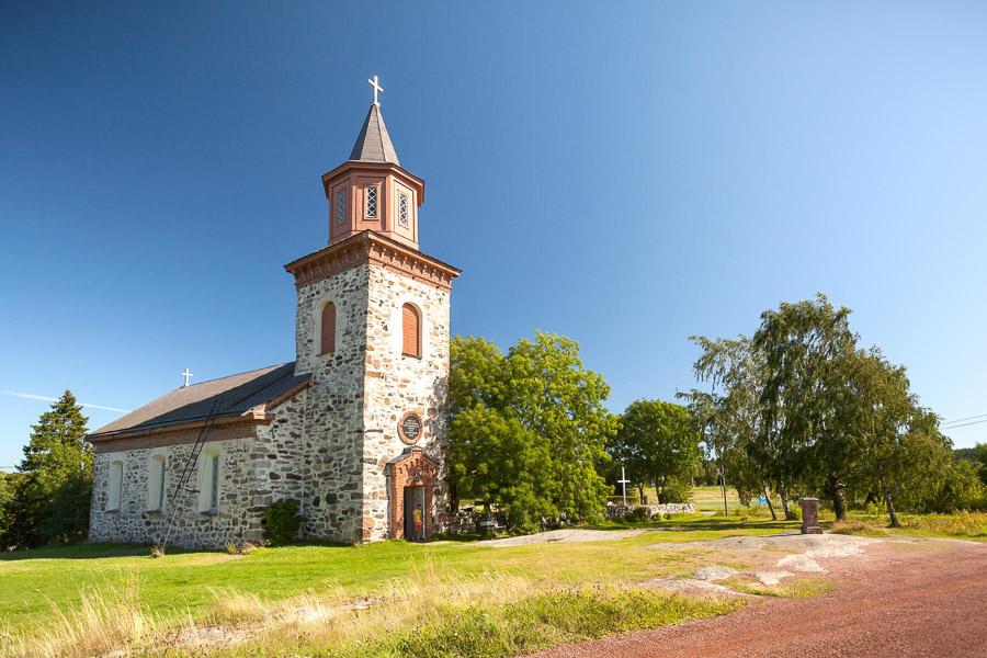 Iniön kirkko Iniö Saariston Rengastie